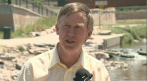 Hickenlooper water for colorado