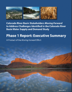 Collaborative Moving Forward Report Addressing Future Colorado River Basin Water Supply and Demand Challenges