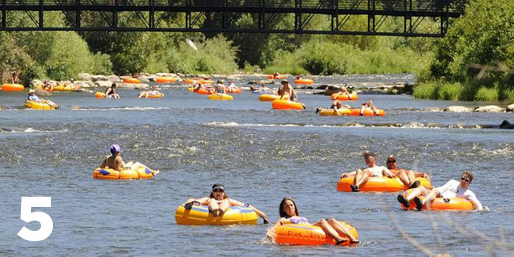 Water for Colorado: Reason #5 to Protect Colorado's Rivers -- #Floating.