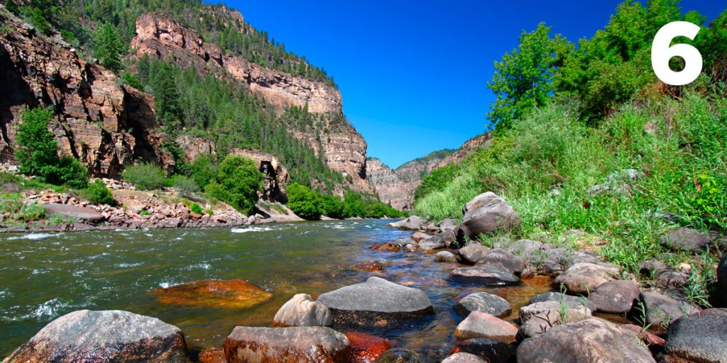 Water for Colorado: Reason #6 to Protect Colorado's Rivers -- #Canyons.